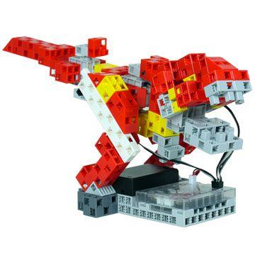 robot t rex à construire